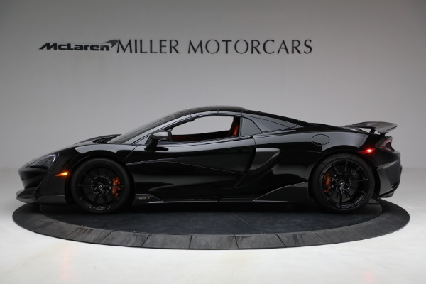 Used 2020 McLaren 600LT Spider for sale Call for price at Maserati of Greenwich in Greenwich CT 06830 21