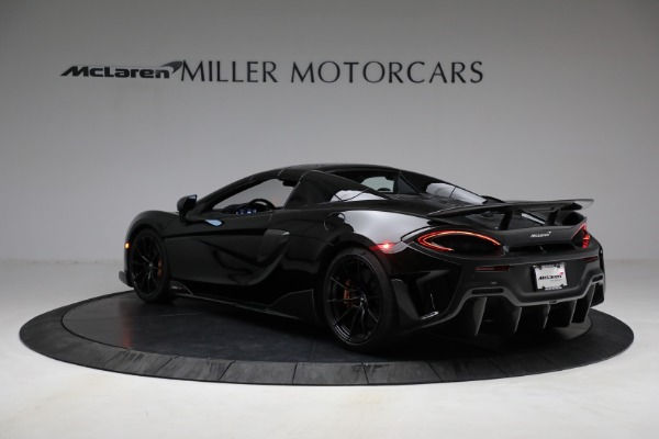Used 2020 McLaren 600LT Spider for sale Call for price at Maserati of Greenwich in Greenwich CT 06830 22