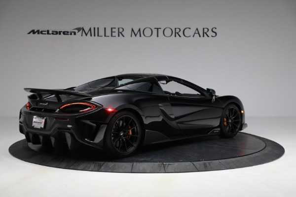Used 2020 McLaren 600LT Spider for sale Call for price at Maserati of Greenwich in Greenwich CT 06830 24