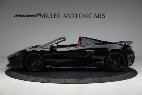 Used 2020 McLaren 600LT Spider for sale Call for price at Maserati of Greenwich in Greenwich CT 06830 3