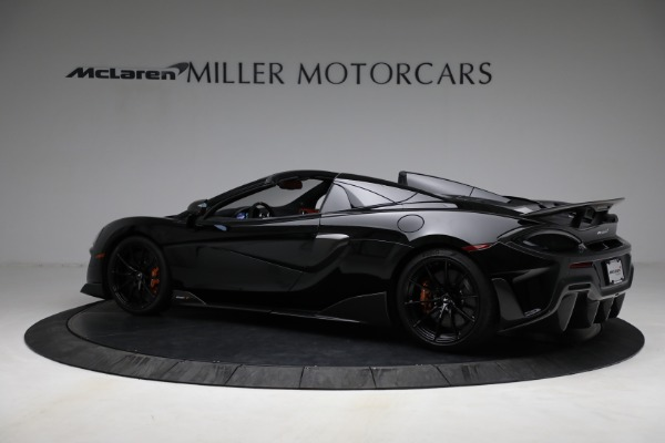 Used 2020 McLaren 600LT Spider for sale Call for price at Maserati of Greenwich in Greenwich CT 06830 4