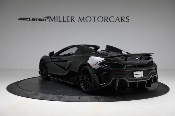 Used 2020 McLaren 600LT Spider for sale Call for price at Maserati of Greenwich in Greenwich CT 06830 5