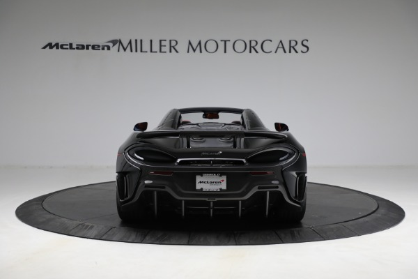 Used 2020 McLaren 600LT Spider for sale Call for price at Maserati of Greenwich in Greenwich CT 06830 6