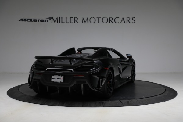 Used 2020 McLaren 600LT Spider for sale Call for price at Maserati of Greenwich in Greenwich CT 06830 7