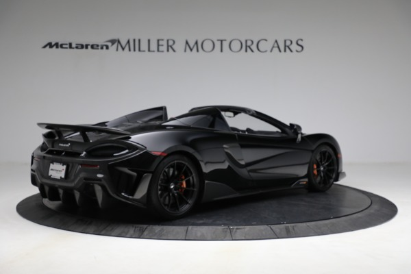 Used 2020 McLaren 600LT Spider for sale Call for price at Maserati of Greenwich in Greenwich CT 06830 8