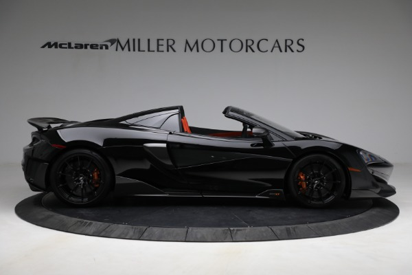 Used 2020 McLaren 600LT Spider for sale Call for price at Maserati of Greenwich in Greenwich CT 06830 9