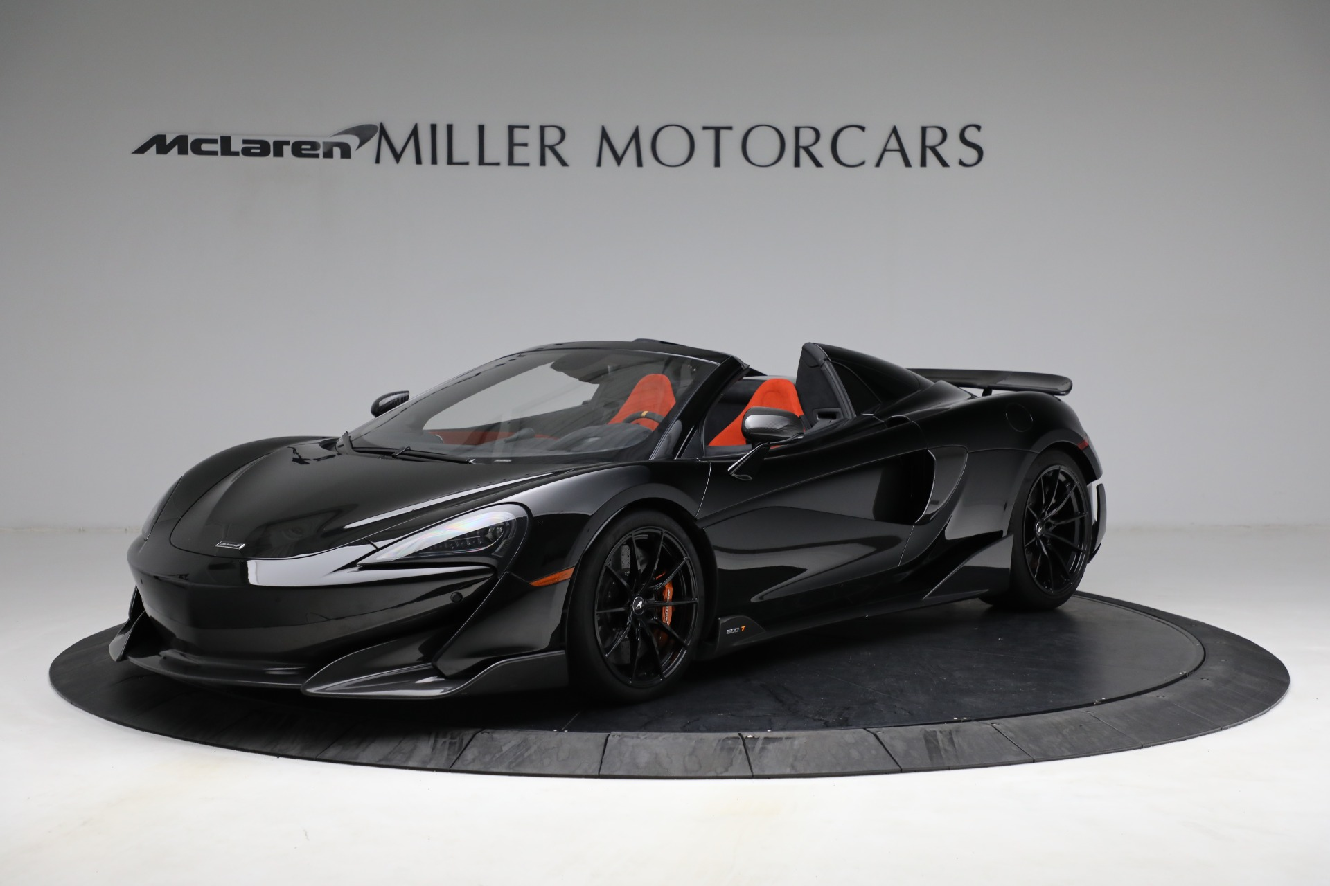 Used 2020 McLaren 600LT Spider for sale Call for price at Maserati of Greenwich in Greenwich CT 06830 1