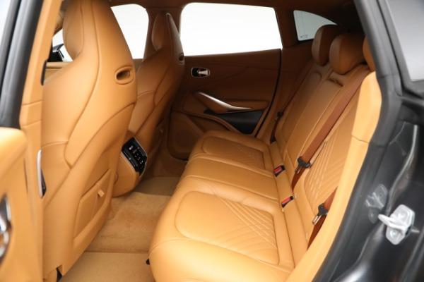 New 2021 Aston Martin DBX for sale $203,886 at Maserati of Greenwich in Greenwich CT 06830 15