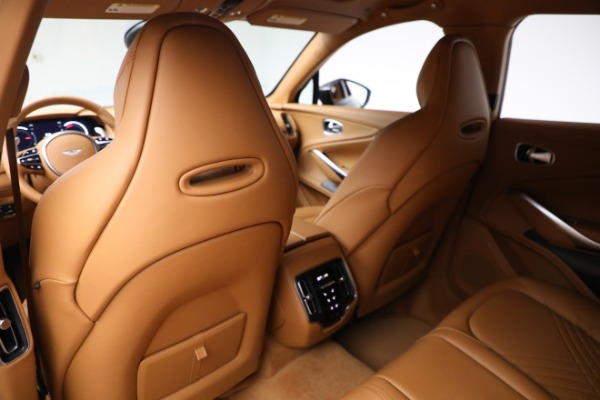 New 2021 Aston Martin DBX for sale $203,886 at Maserati of Greenwich in Greenwich CT 06830 16