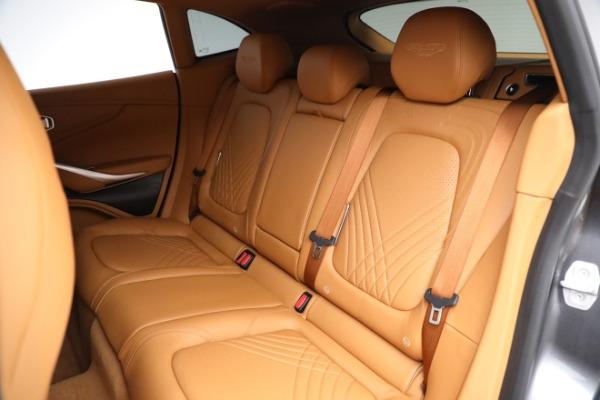New 2021 Aston Martin DBX for sale $203,886 at Maserati of Greenwich in Greenwich CT 06830 17