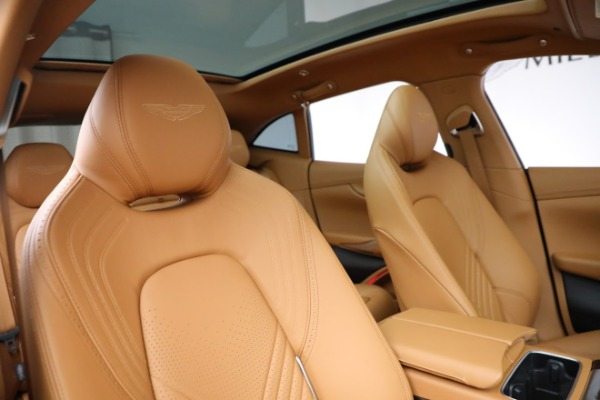 New 2021 Aston Martin DBX for sale $203,886 at Maserati of Greenwich in Greenwich CT 06830 18