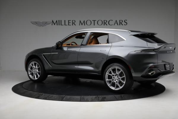 New 2021 Aston Martin DBX for sale $203,886 at Maserati of Greenwich in Greenwich CT 06830 3