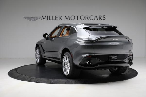 New 2021 Aston Martin DBX for sale $203,886 at Maserati of Greenwich in Greenwich CT 06830 4