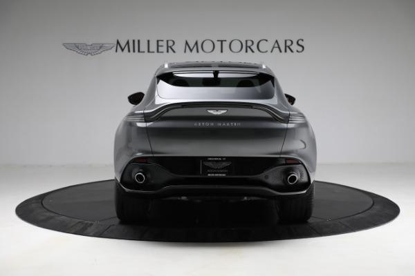 New 2021 Aston Martin DBX for sale $203,886 at Maserati of Greenwich in Greenwich CT 06830 5