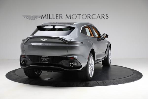 New 2021 Aston Martin DBX for sale $203,886 at Maserati of Greenwich in Greenwich CT 06830 6