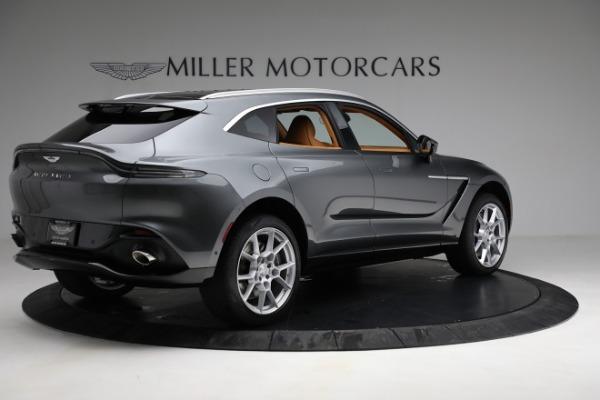 New 2021 Aston Martin DBX for sale $203,886 at Maserati of Greenwich in Greenwich CT 06830 7