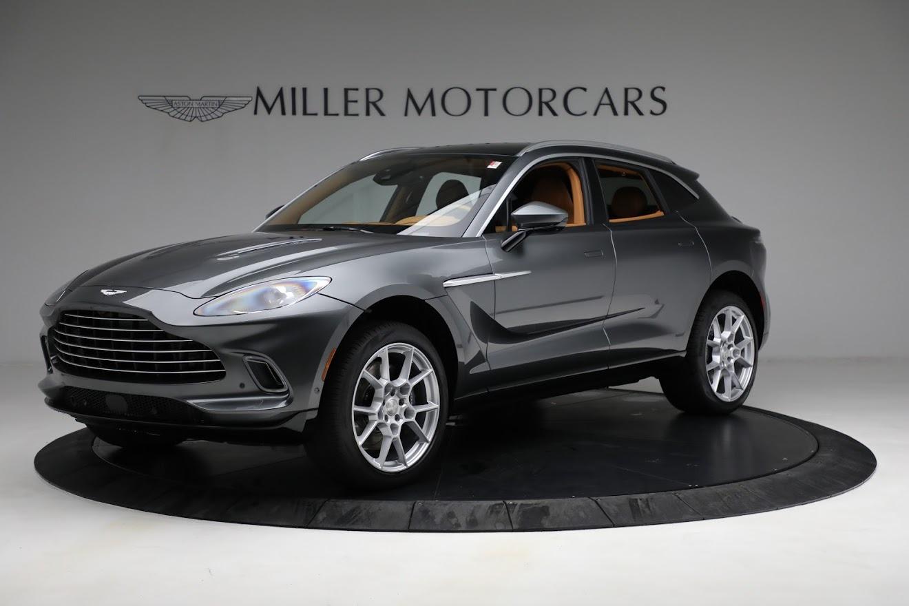 New 2021 Aston Martin DBX for sale $203,886 at Maserati of Greenwich in Greenwich CT 06830 1