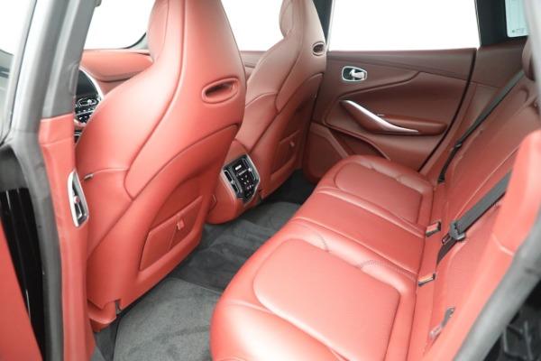 New 2021 Aston Martin DBX for sale $200,686 at Maserati of Greenwich in Greenwich CT 06830 17