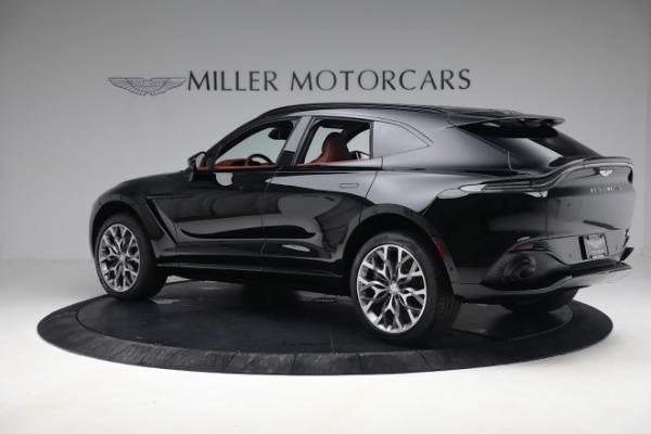 New 2021 Aston Martin DBX for sale $200,686 at Maserati of Greenwich in Greenwich CT 06830 3