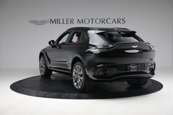 New 2021 Aston Martin DBX for sale $200,686 at Maserati of Greenwich in Greenwich CT 06830 4