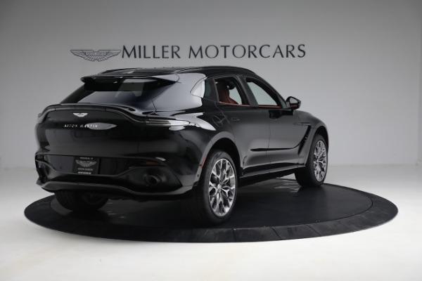 New 2021 Aston Martin DBX for sale $200,686 at Maserati of Greenwich in Greenwich CT 06830 6