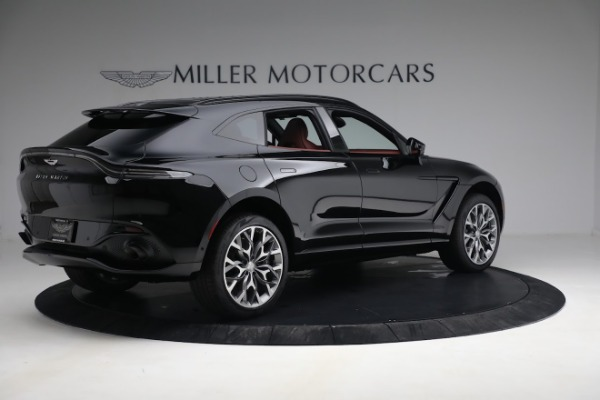 New 2021 Aston Martin DBX for sale $200,686 at Maserati of Greenwich in Greenwich CT 06830 7