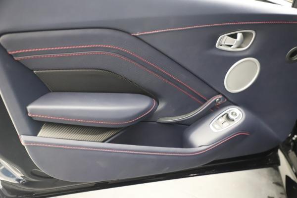 New 2021 Aston Martin Vantage for sale $189,686 at Maserati of Greenwich in Greenwich CT 06830 17