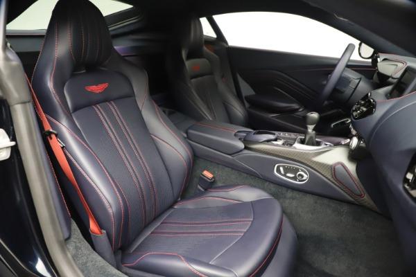 New 2021 Aston Martin Vantage for sale $189,686 at Maserati of Greenwich in Greenwich CT 06830 21