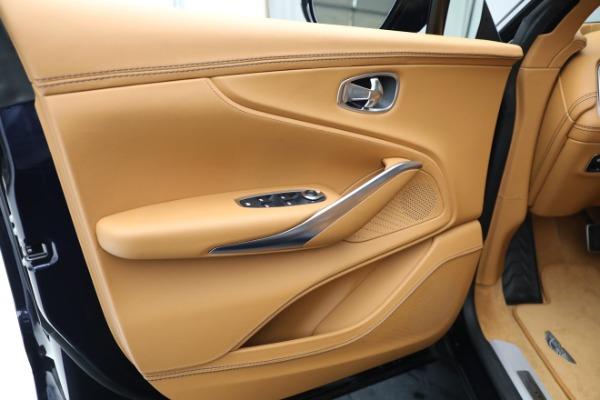 New 2021 Aston Martin DBX for sale $209,586 at Maserati of Greenwich in Greenwich CT 06830 16