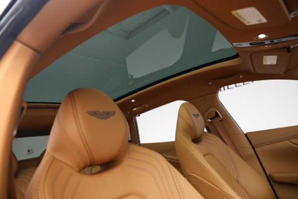 New 2021 Aston Martin DBX for sale $209,586 at Maserati of Greenwich in Greenwich CT 06830 22
