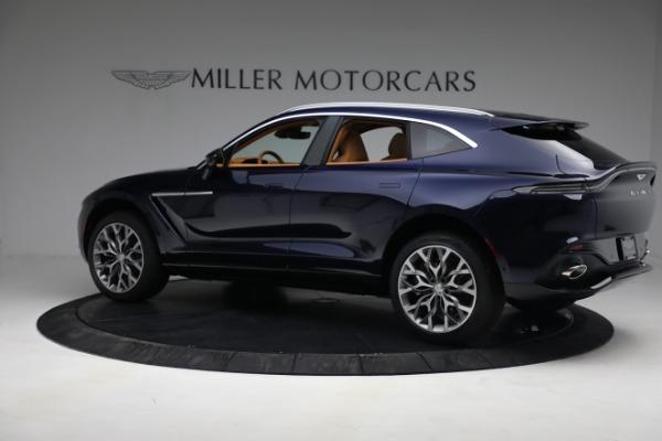 New 2021 Aston Martin DBX for sale $209,586 at Maserati of Greenwich in Greenwich CT 06830 3