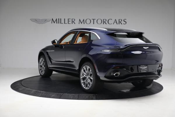 New 2021 Aston Martin DBX for sale $209,586 at Maserati of Greenwich in Greenwich CT 06830 4