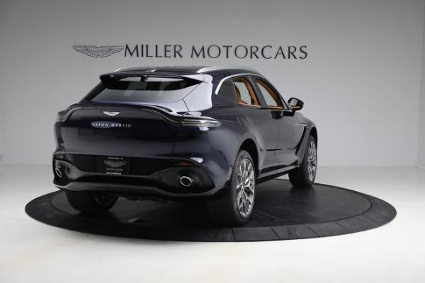 New 2021 Aston Martin DBX for sale $209,586 at Maserati of Greenwich in Greenwich CT 06830 6