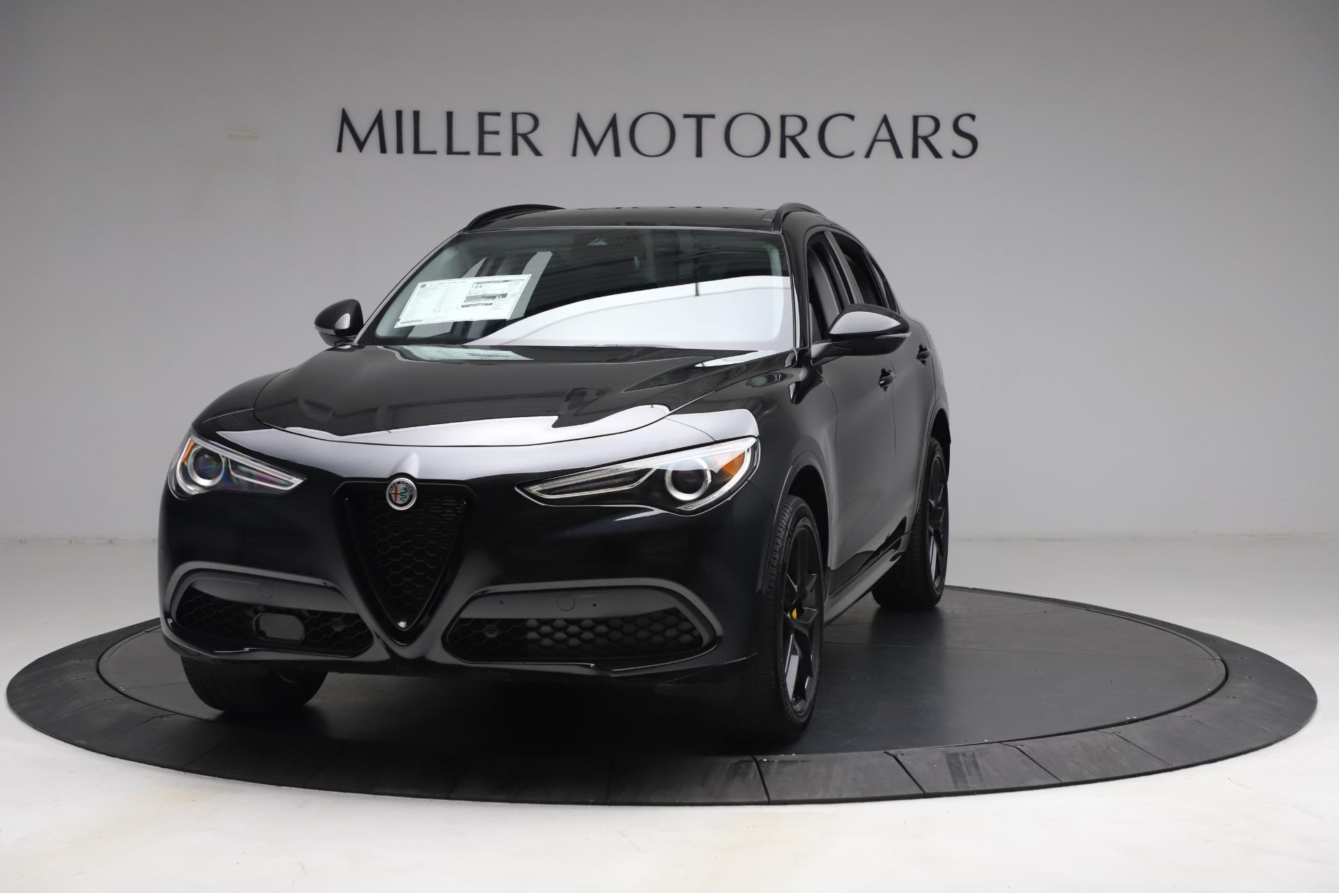 New 2021 Alfa Romeo Stelvio Ti for sale $51,955 at Maserati of Greenwich in Greenwich CT 06830 1