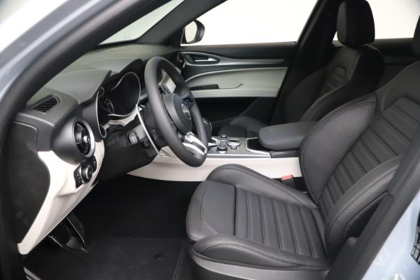 New 2021 Alfa Romeo Stelvio Ti Sport Q4 for sale $57,200 at Maserati of Greenwich in Greenwich CT 06830 14