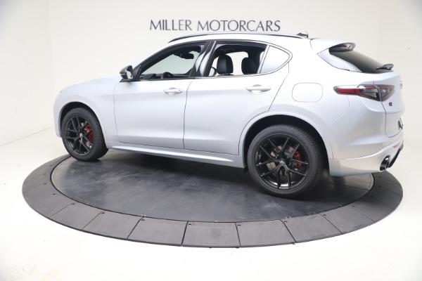 New 2021 Alfa Romeo Stelvio Ti Sport Q4 for sale $57,200 at Maserati of Greenwich in Greenwich CT 06830 4