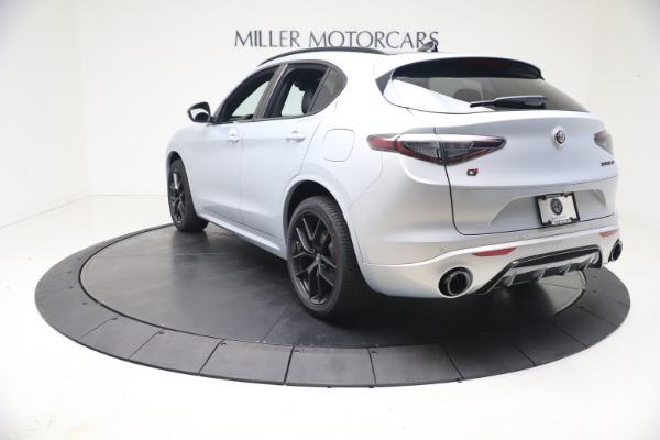 New 2021 Alfa Romeo Stelvio Ti Sport Q4 for sale $57,200 at Maserati of Greenwich in Greenwich CT 06830 5