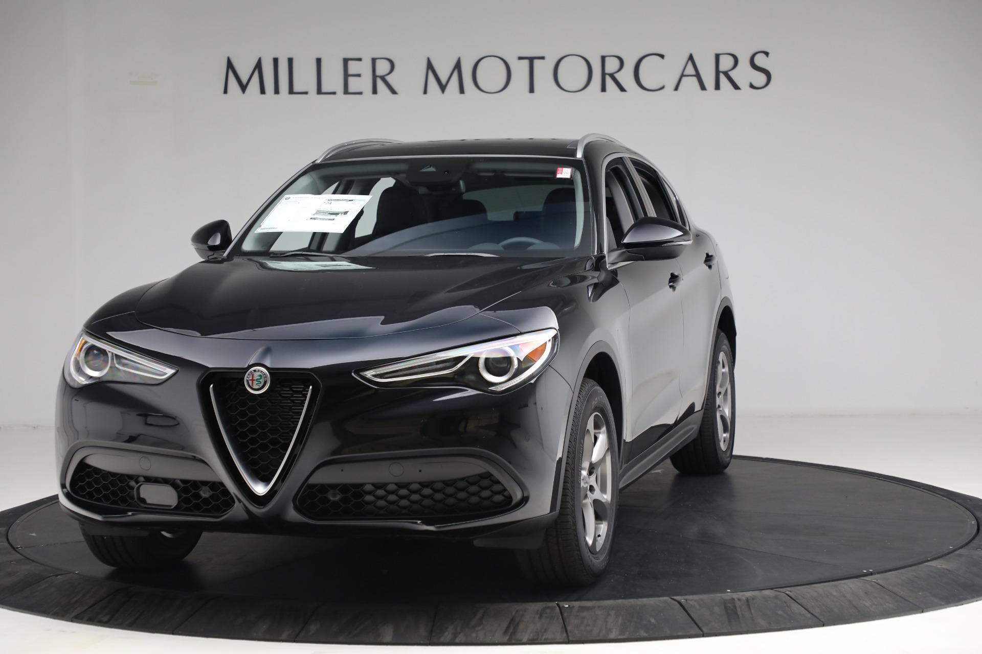 New 2021 Alfa Romeo Stelvio Q4 for sale $49,945 at Maserati of Greenwich in Greenwich CT 06830 1