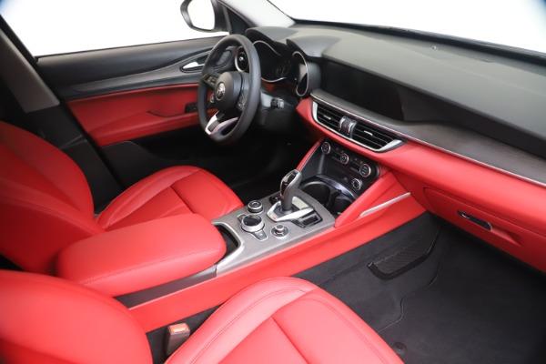 New 2021 Alfa Romeo Stelvio Ti Q4 for sale $53,740 at Maserati of Greenwich in Greenwich CT 06830 19