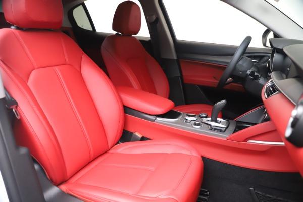 New 2021 Alfa Romeo Stelvio Ti Q4 for sale $53,740 at Maserati of Greenwich in Greenwich CT 06830 21