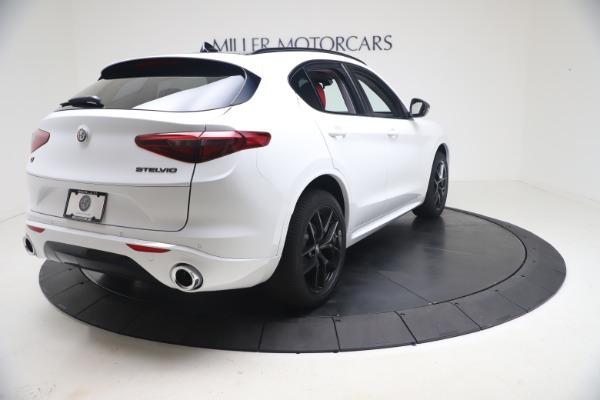 New 2021 Alfa Romeo Stelvio Ti Q4 for sale $53,740 at Maserati of Greenwich in Greenwich CT 06830 8