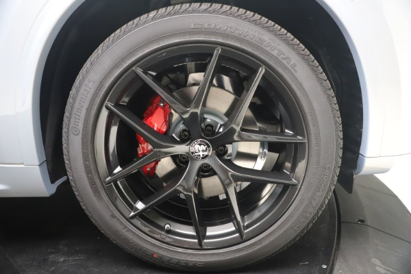 New 2021 Alfa Romeo Stelvio Ti Sport Q4 for sale Sold at Maserati of Greenwich in Greenwich CT 06830 23