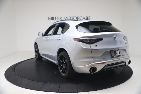 New 2021 Alfa Romeo Stelvio Ti Sport Q4 for sale Sold at Maserati of Greenwich in Greenwich CT 06830 5