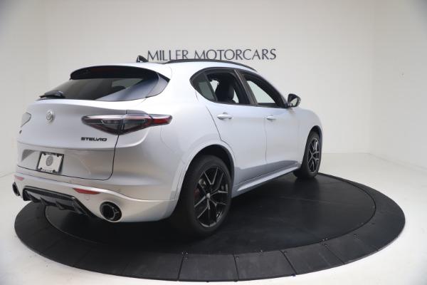 New 2021 Alfa Romeo Stelvio Ti Sport Q4 for sale Sold at Maserati of Greenwich in Greenwich CT 06830 7