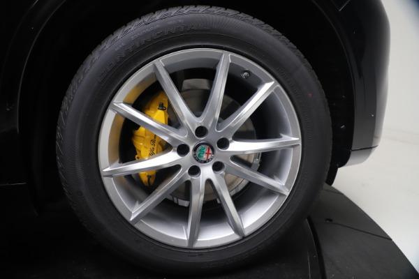 New 2021 Alfa Romeo Stelvio Ti Q4 for sale $54,755 at Maserati of Greenwich in Greenwich CT 06830 13
