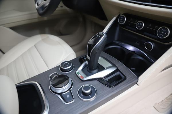 New 2021 Alfa Romeo Stelvio Ti Q4 for sale $54,755 at Maserati of Greenwich in Greenwich CT 06830 18
