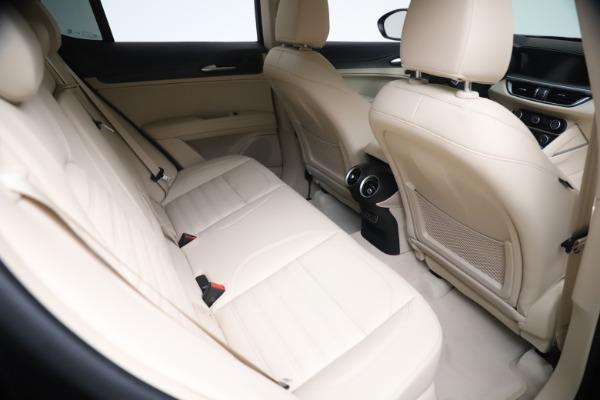 New 2021 Alfa Romeo Stelvio Ti Q4 for sale $54,755 at Maserati of Greenwich in Greenwich CT 06830 22