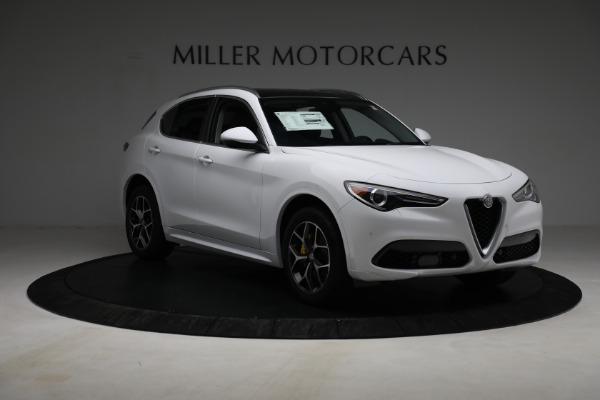 New 2021 Alfa Romeo Stelvio Ti Q4 for sale $54,840 at Maserati of Greenwich in Greenwich CT 06830 11