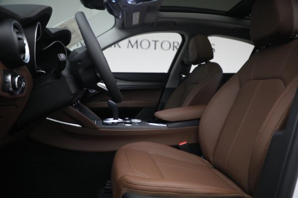 New 2021 Alfa Romeo Stelvio Ti Q4 for sale $54,840 at Maserati of Greenwich in Greenwich CT 06830 14