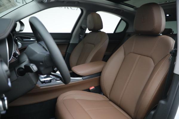 New 2021 Alfa Romeo Stelvio Ti Q4 for sale $54,840 at Maserati of Greenwich in Greenwich CT 06830 15